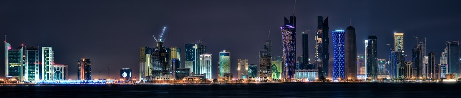 Hotel visuals - doha skyline
